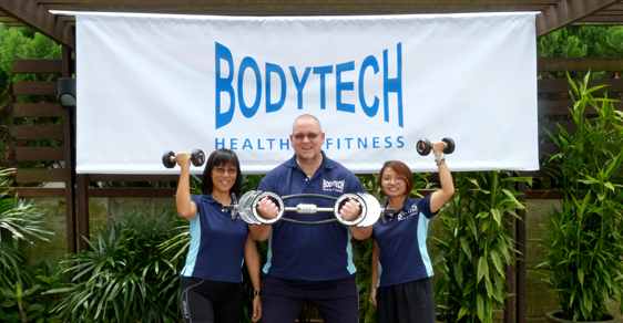 Bodytech Welcome Note